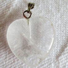 Bergkristall hjärta mindre bild